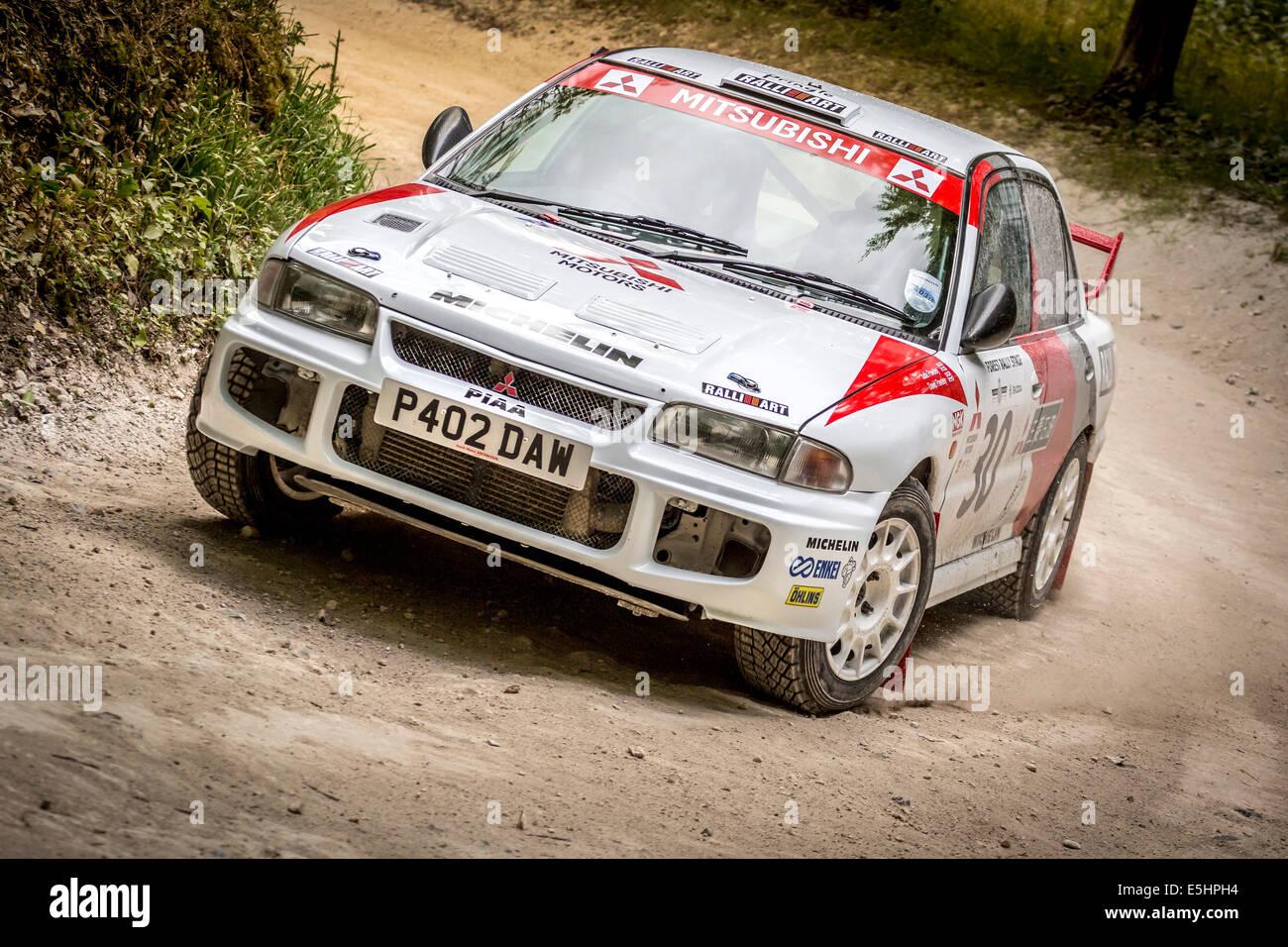 Mitsubishi Evo Rally Car Stock Photos Mitsubishi Evo Rally Car