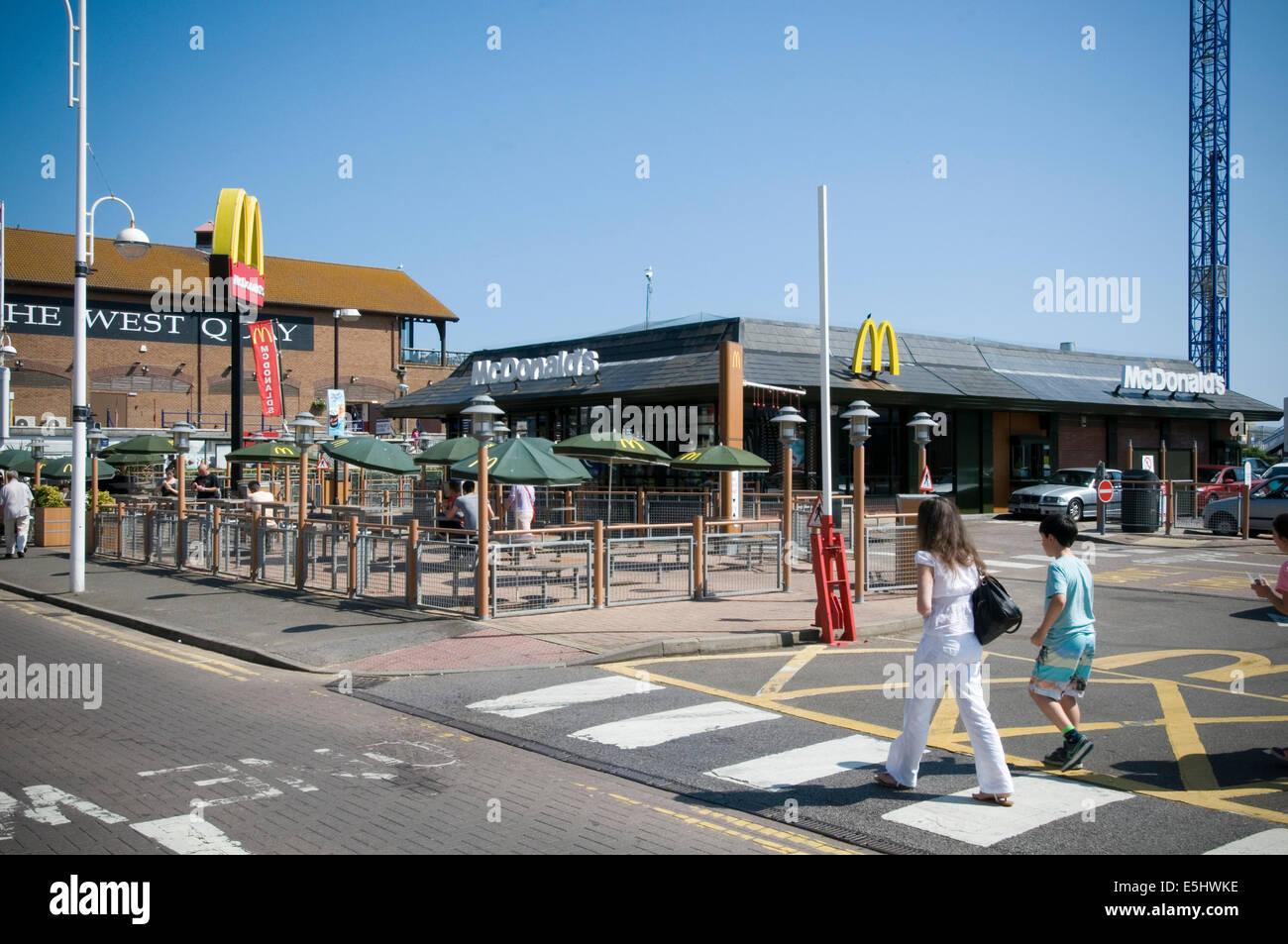 Mcdonalds Macdonalds Drive Through Thru Restaurant Restaurants