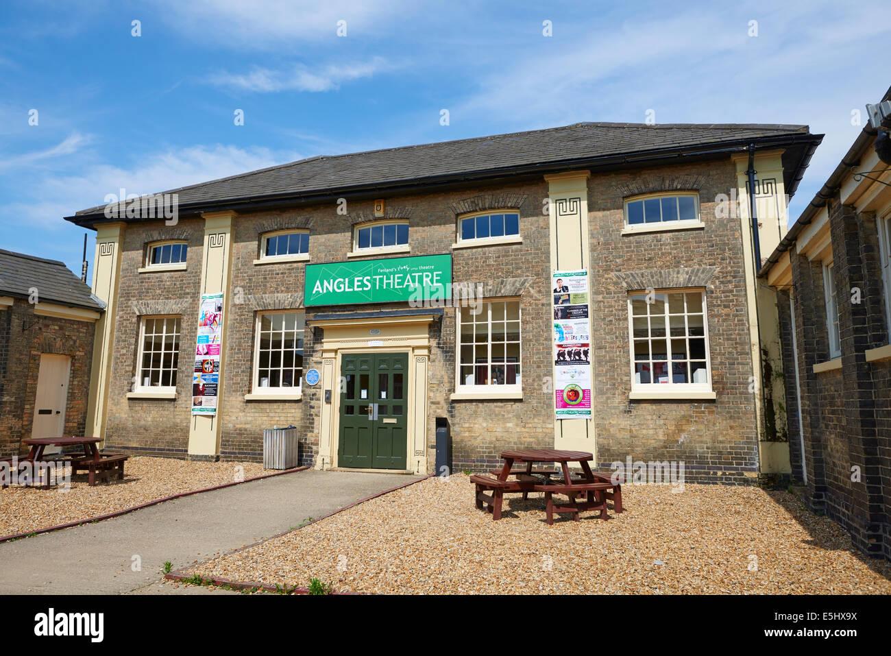 Angles Theatre Alexandra Road Wisbech Fenland Cambridgeshire UK - Stock Image