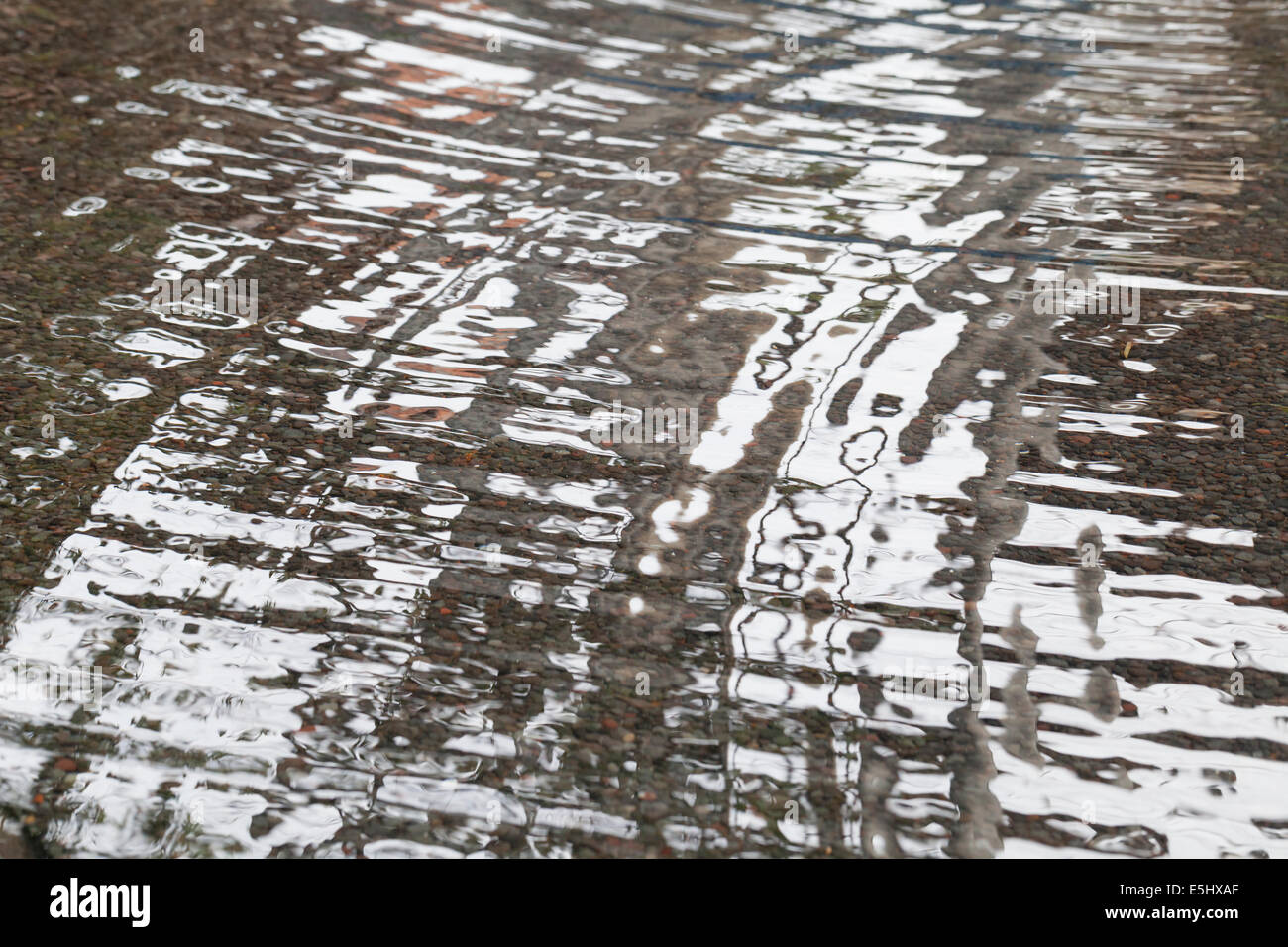 Water ripples - Stock Image