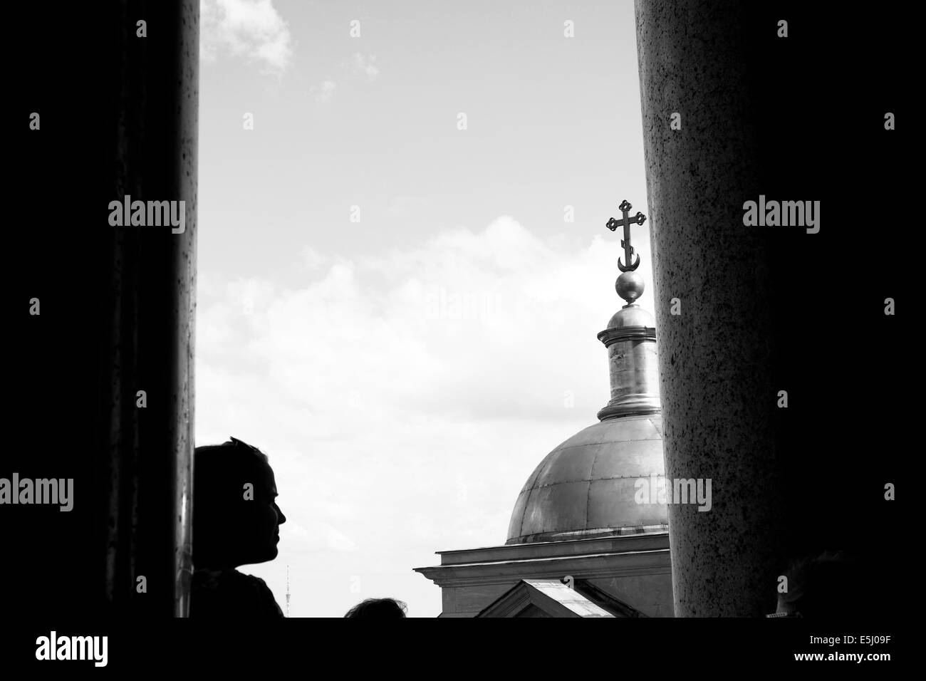 St Isaac's Cathedral, St Petersburg Stock Photo