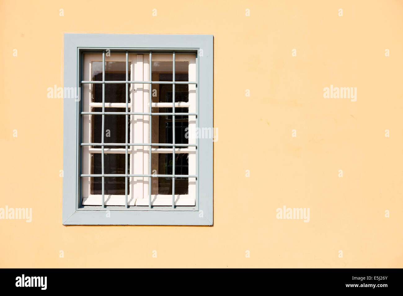 Window at a traditional house of Athens - Stock Image