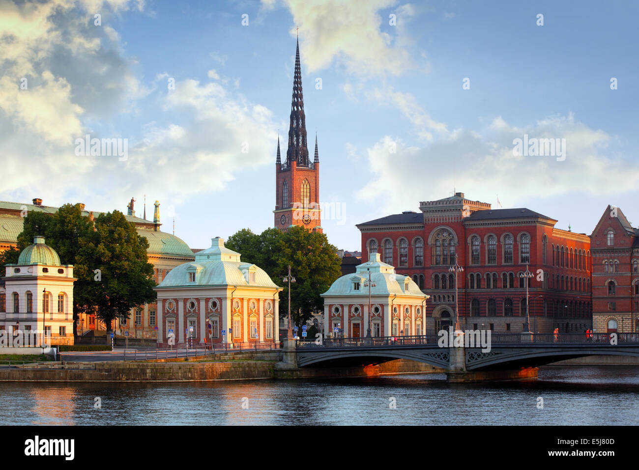 Stockholm City - Stock Image