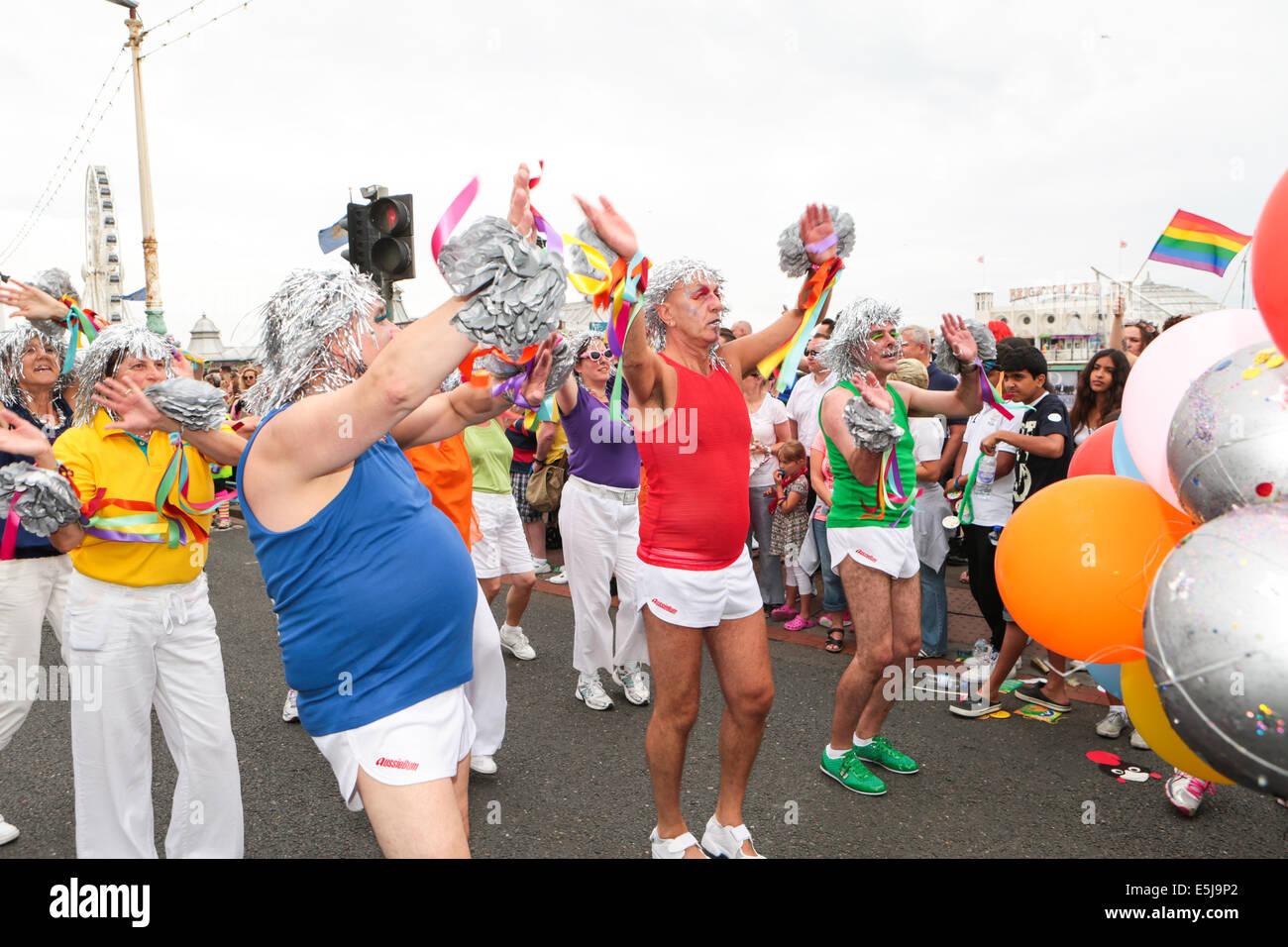 Brighton Pride Parade 2014 - Stock Image