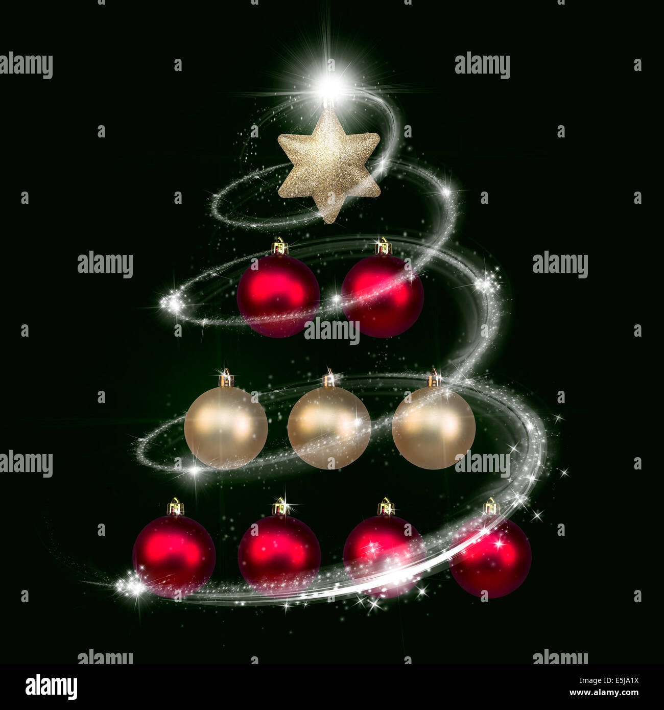 christmas tree ball black gold stock photos christmas tree ball black gold stock images alamy