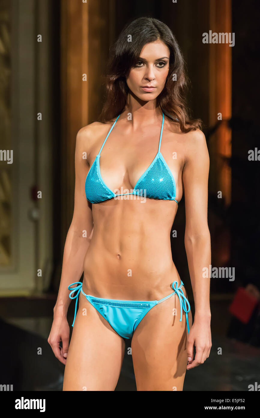 0d4d1f61eb Beachwear and swimsuit fashion show in Montecarlo,collection 2014/2015 by  Beach & Cashmere Monaco
