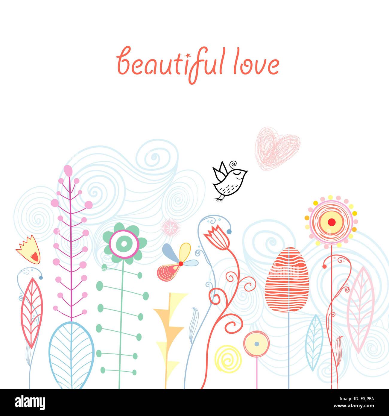 Beautiful designs flowers birds stock photos beautiful designs beautiful designs of flowers and birds stock image izmirmasajfo