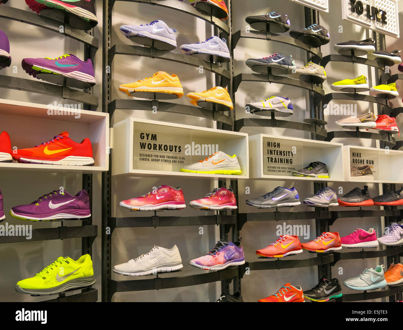 Nike Shoe Display NYC