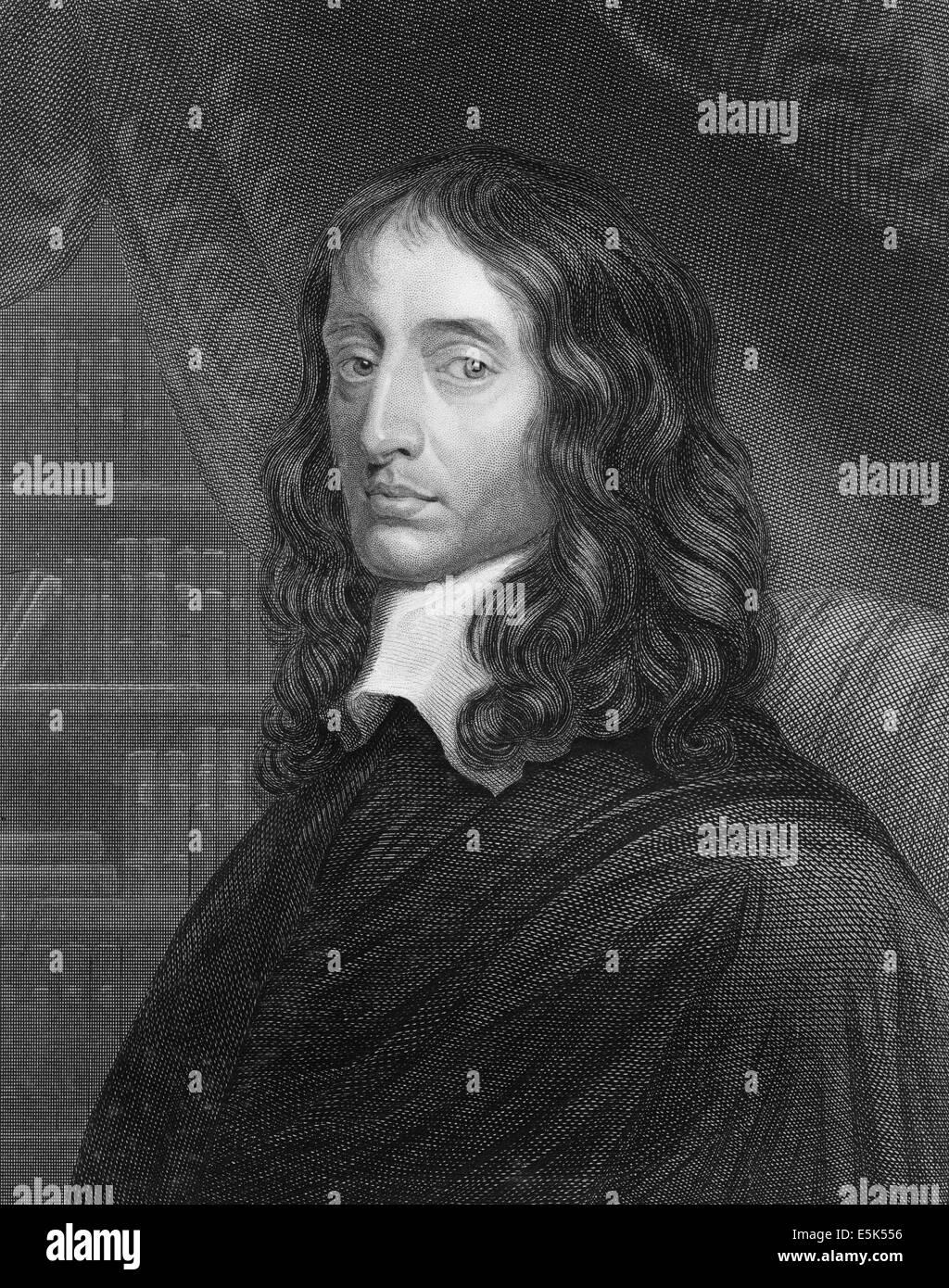 John Selden, 1584-1654, an English jurist, scholar and polymath, - Stock Image