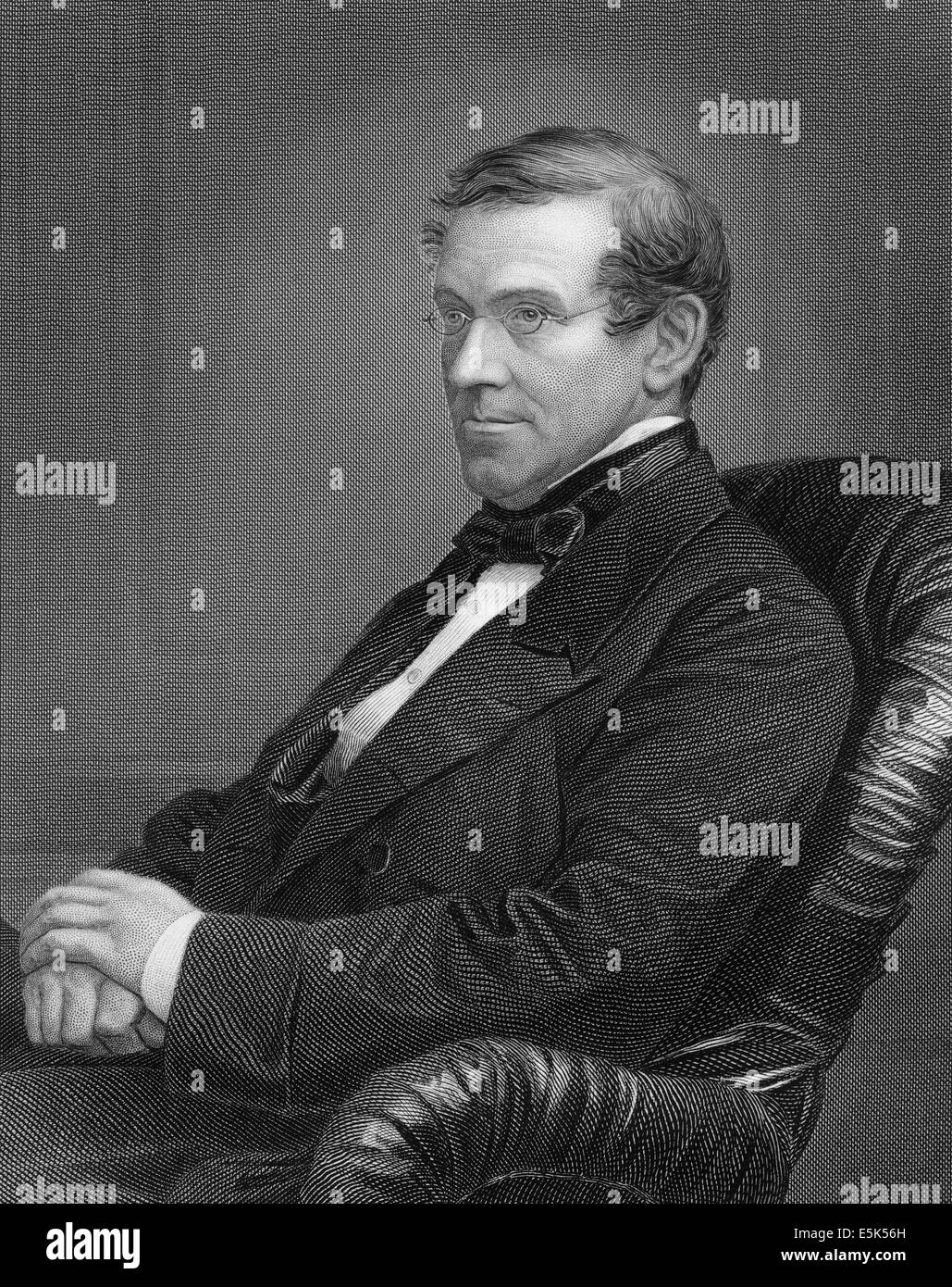 Sir Charles Wheatstone, 1802-1875, an English scientist and inventor, Stock Photo