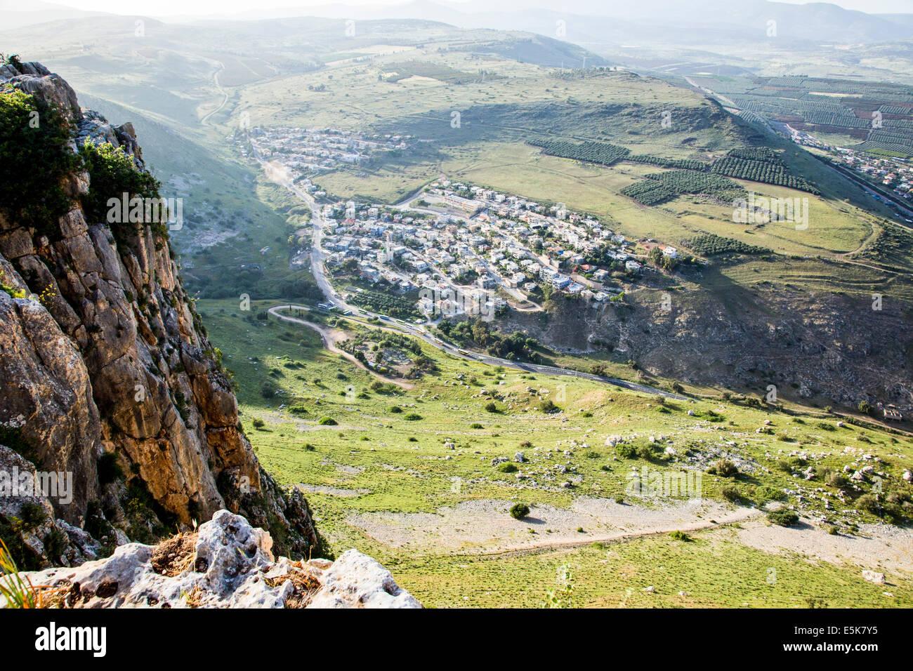 Israel, Lower Galilee, Arbel mountain, Stock Photo