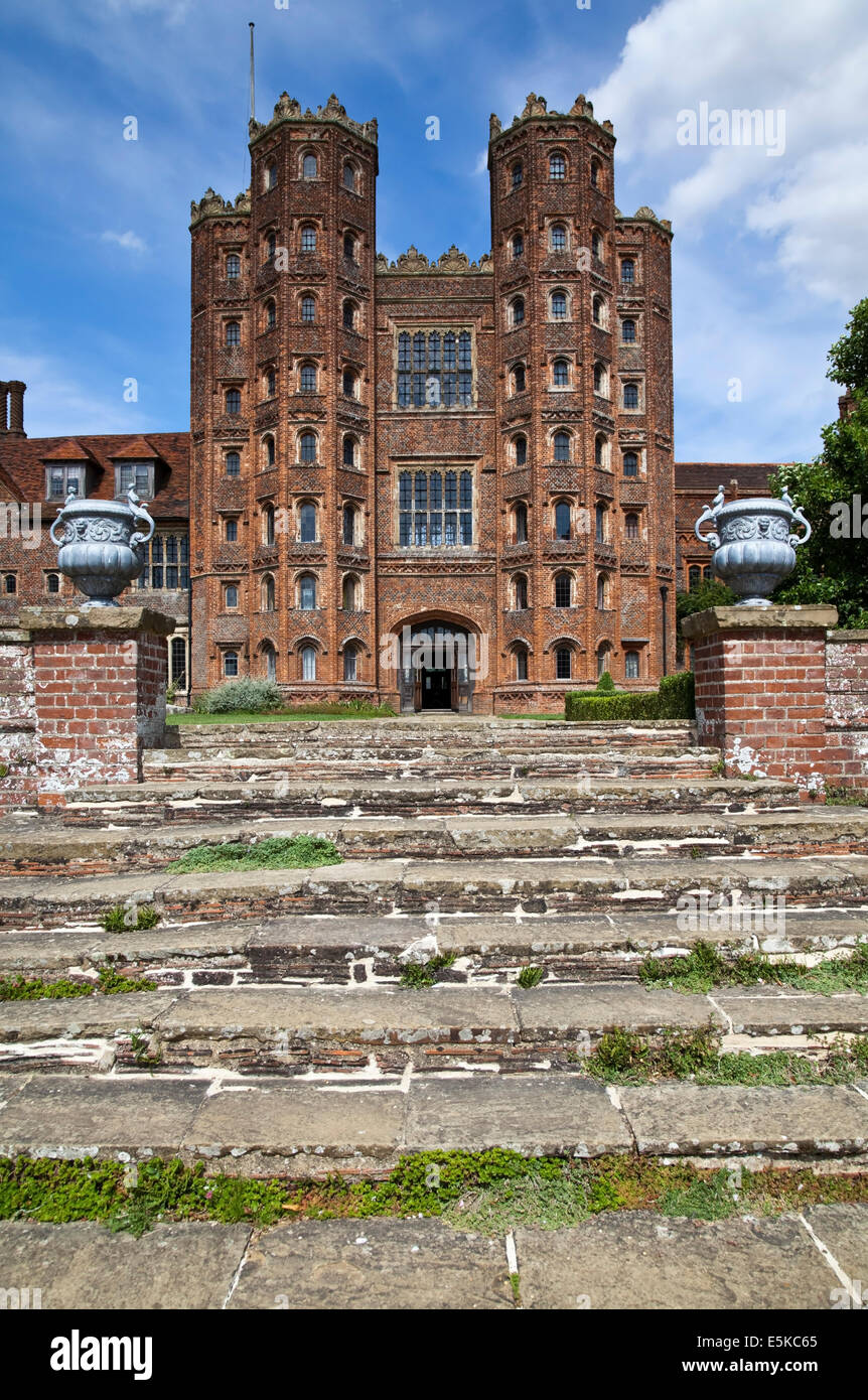 Layer Marney Tower, Essex, UK - Stock Image