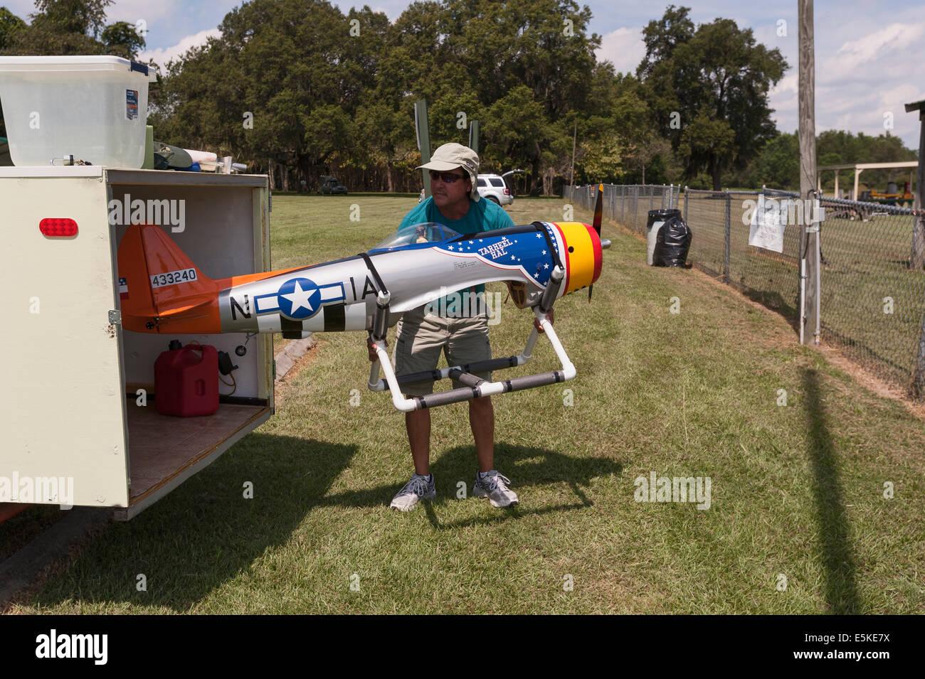 Rc Airplane Hobbyist Remote Stock Photos & Rc Airplane