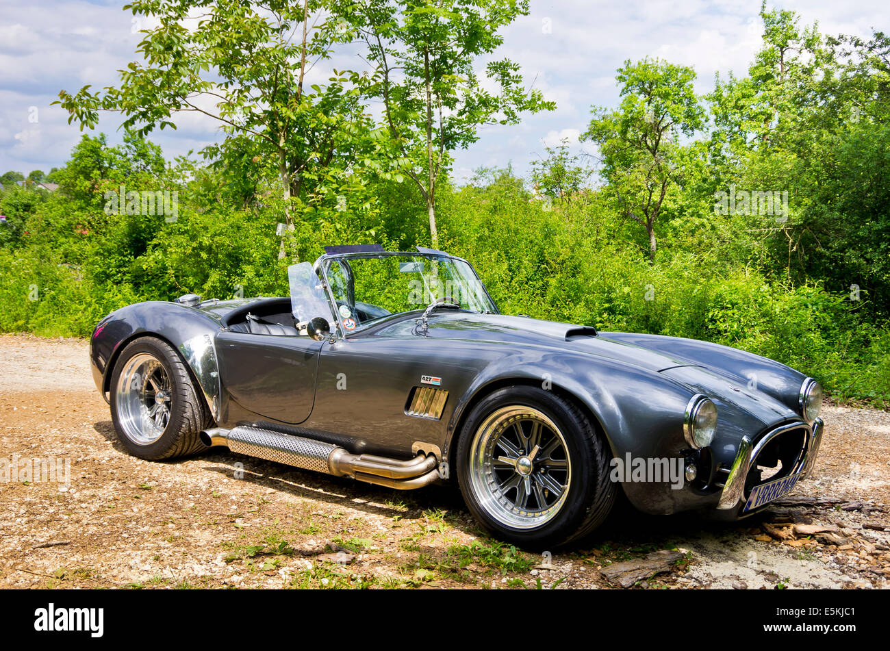 Shelby Cobra 427 classic car. Stock Photo