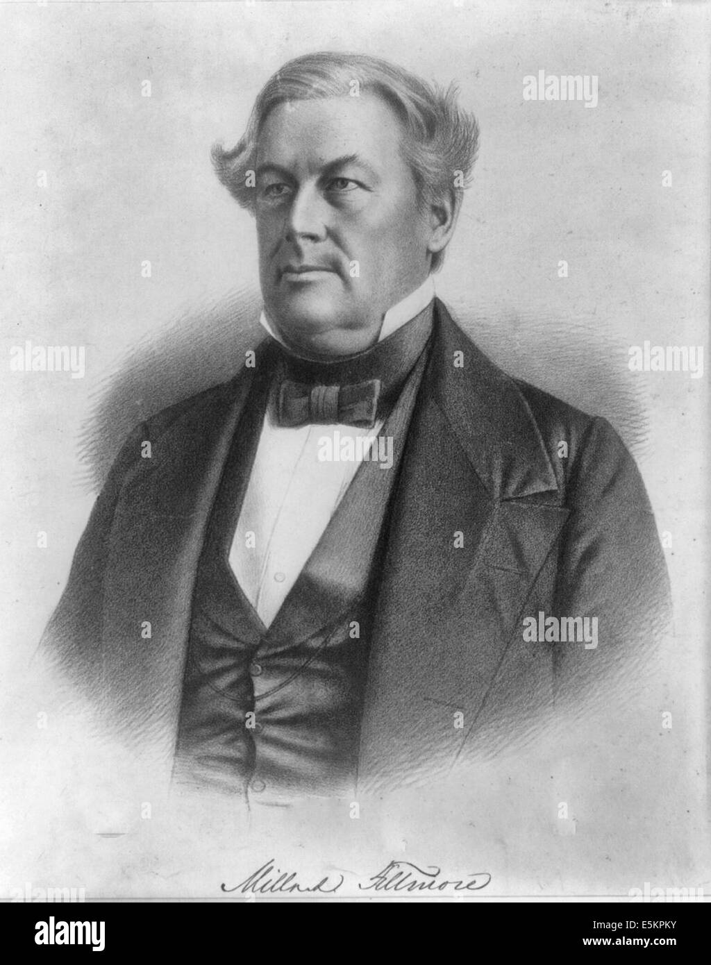 Millard Fillmore, 13th President of the USA, 1850-1853 Stock Photo