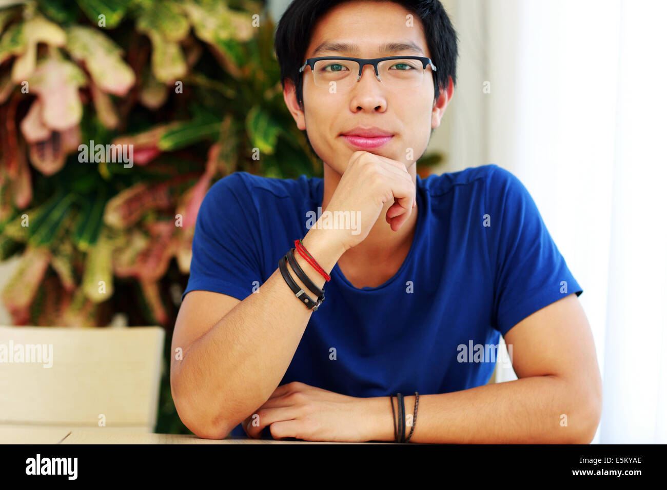 71782772b087 Chinese Man Wearing Glasses Stock Photos   Chinese Man Wearing ...