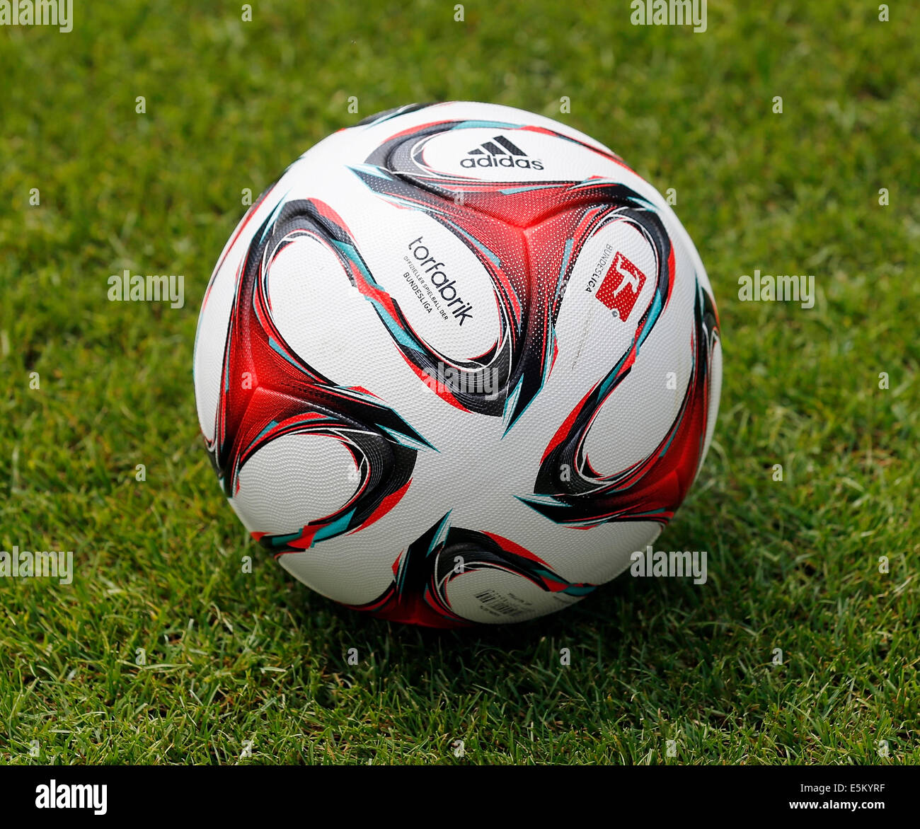 "Football ""Torfabrik"", season 2014 - 2015, Germany - Stock Image"