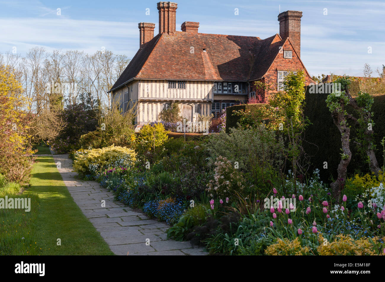 Great Dixter East Sussex House And Long Border The Famous