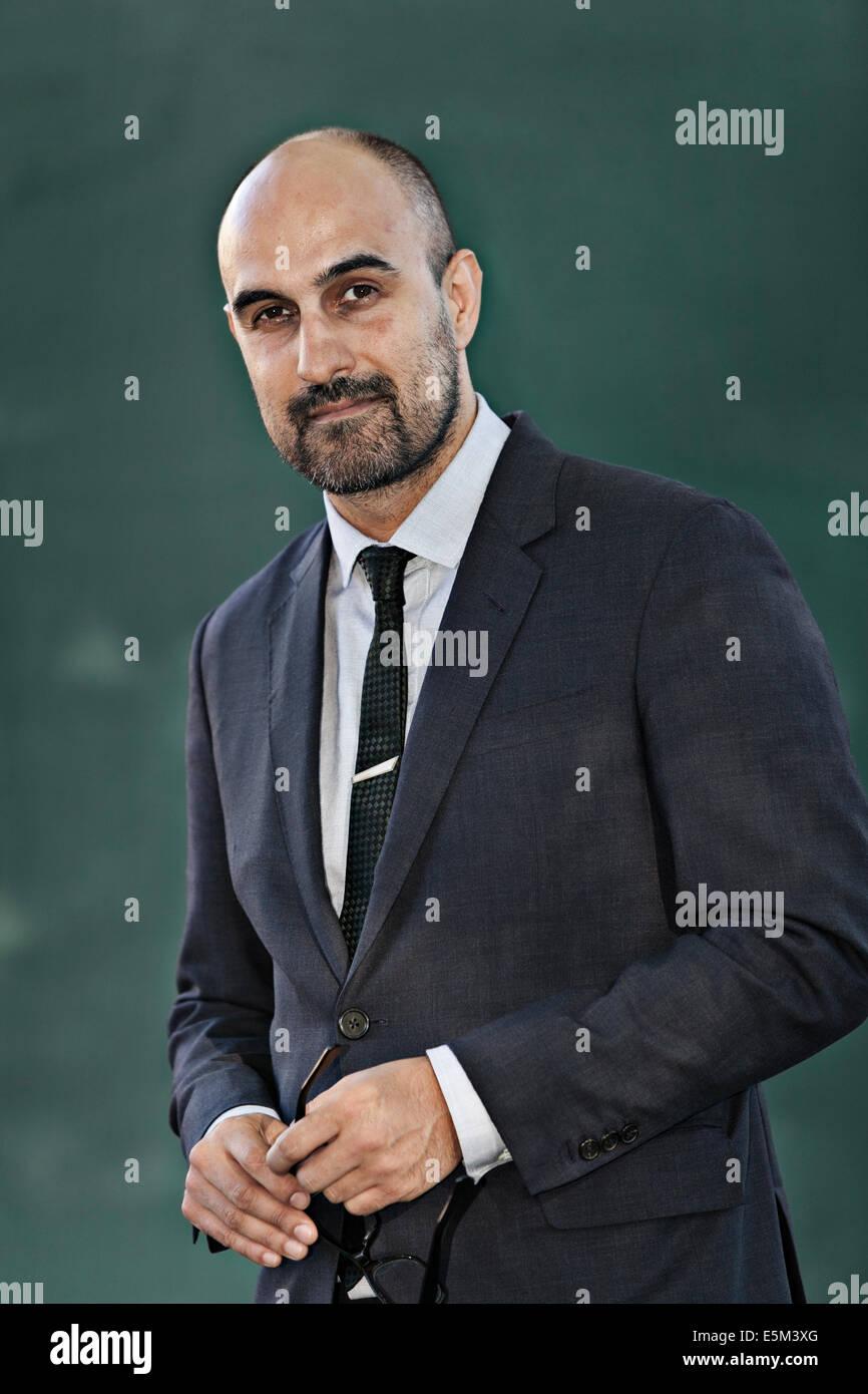 Hari Kunzru, author - Stock Image