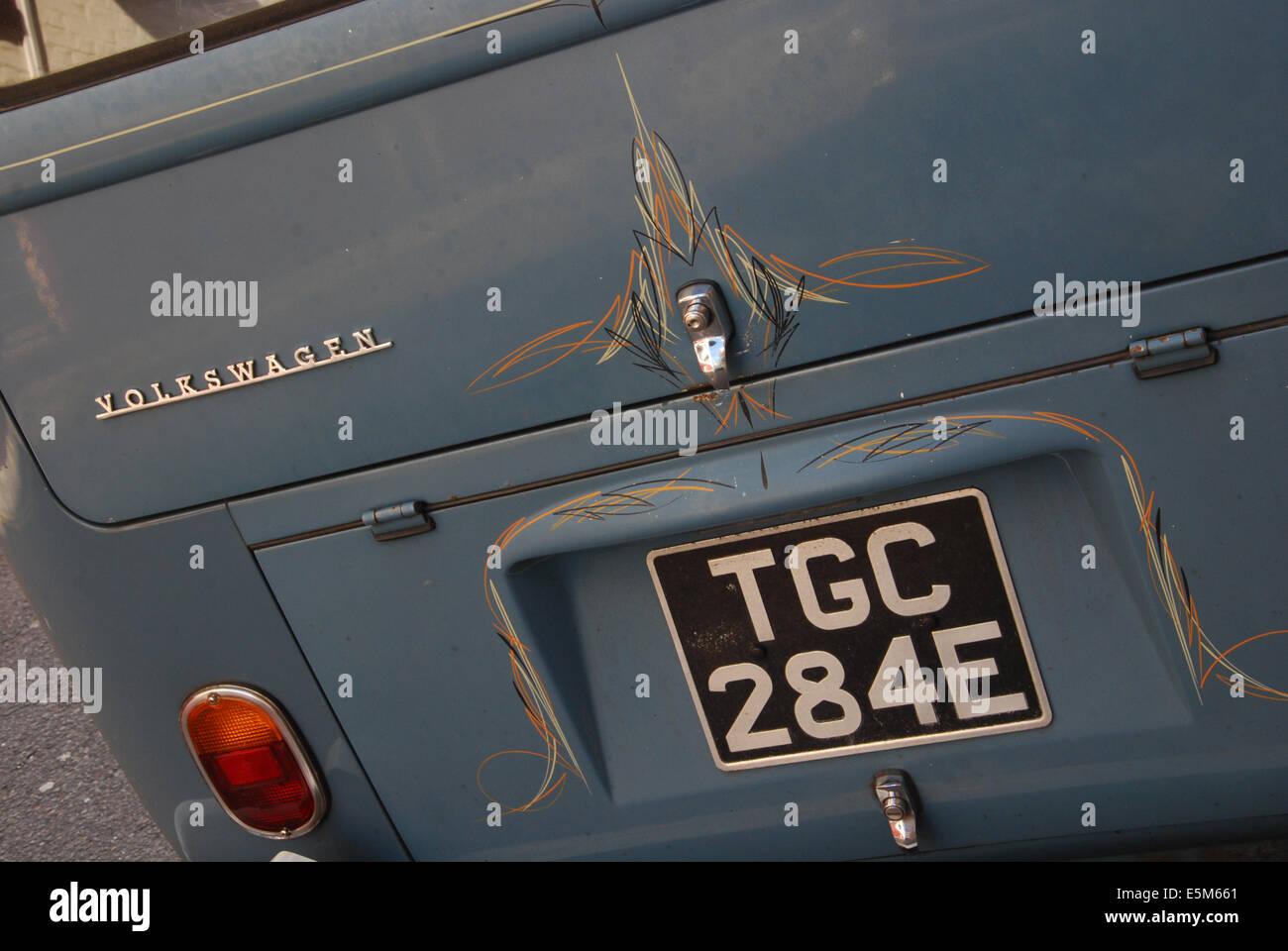 detail of Volkswagen T1 bus - Stock Image