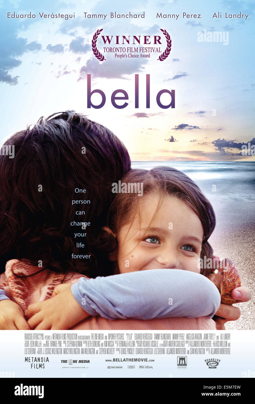 BELLA, US poster art, 2006, ©Roadside Attractions/courtesy Everett Collection - Stock Image