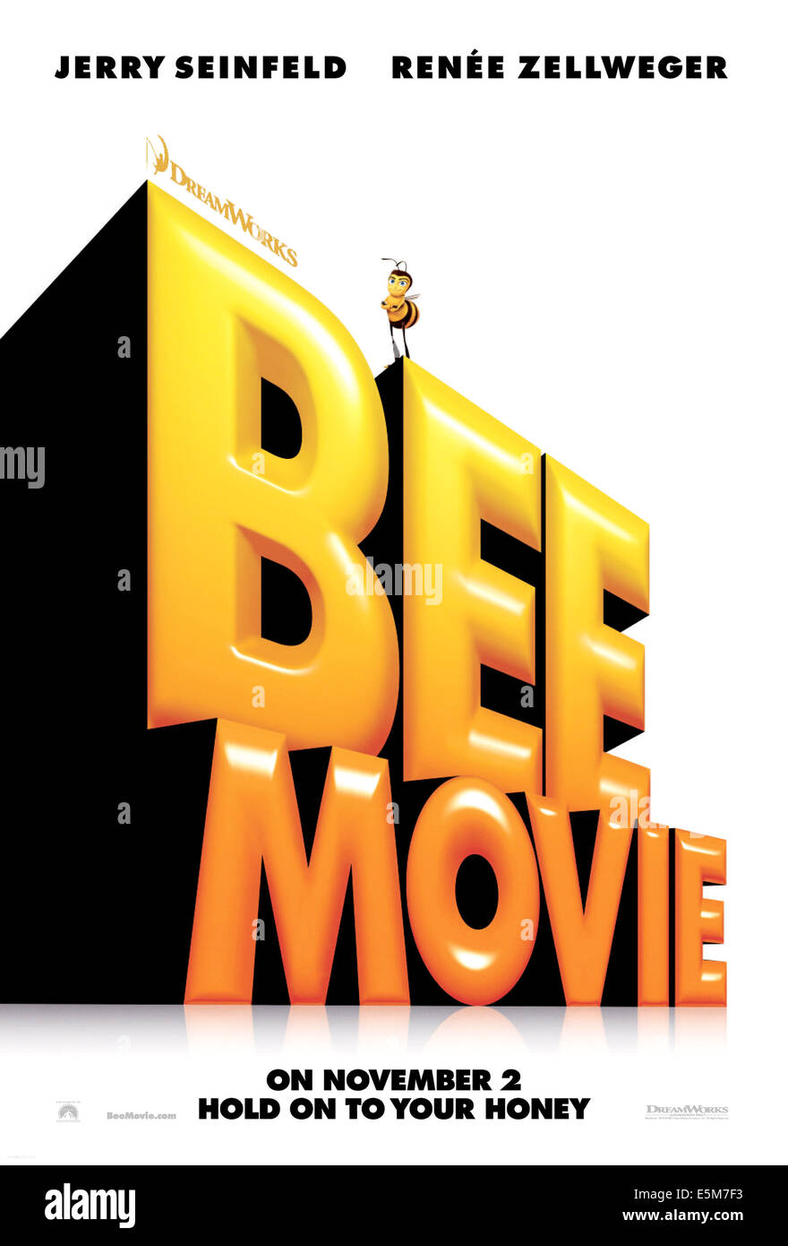 BEE MOVIE Barry B Benson Voice Jerry Seinfeld 2007