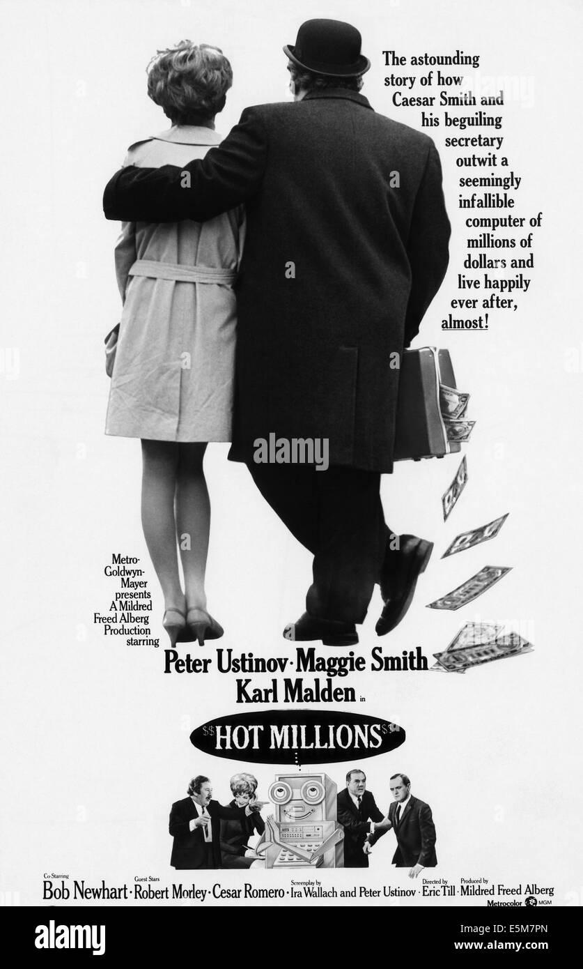 HOT MILLIONS, 1968 - Stock Image