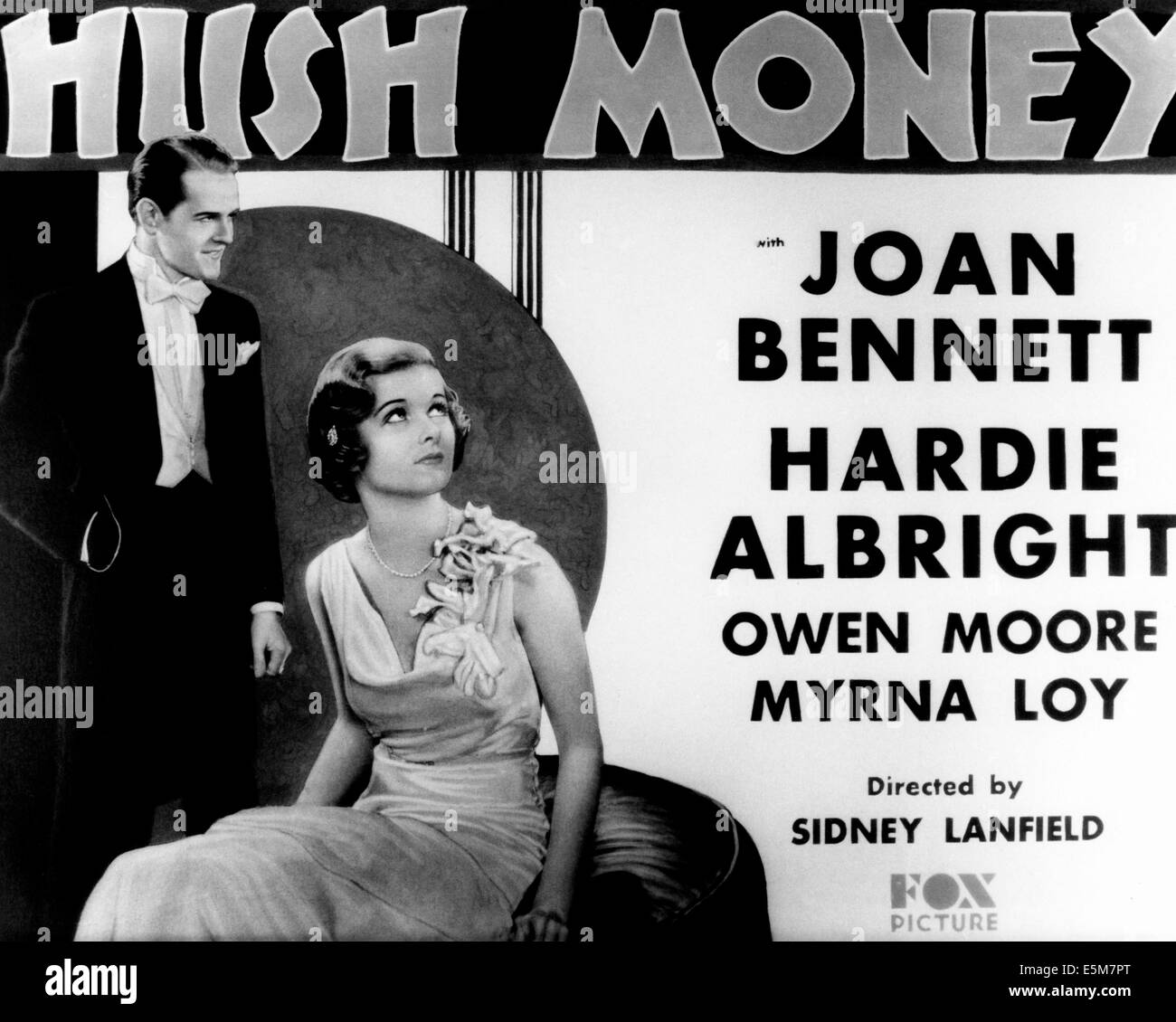 HUSH MONEY, from left: Hardie Albright, Joan Bennett, 1931, TM & Copyright © 20th Century Fox Film Corp./courtesy - Stock Image