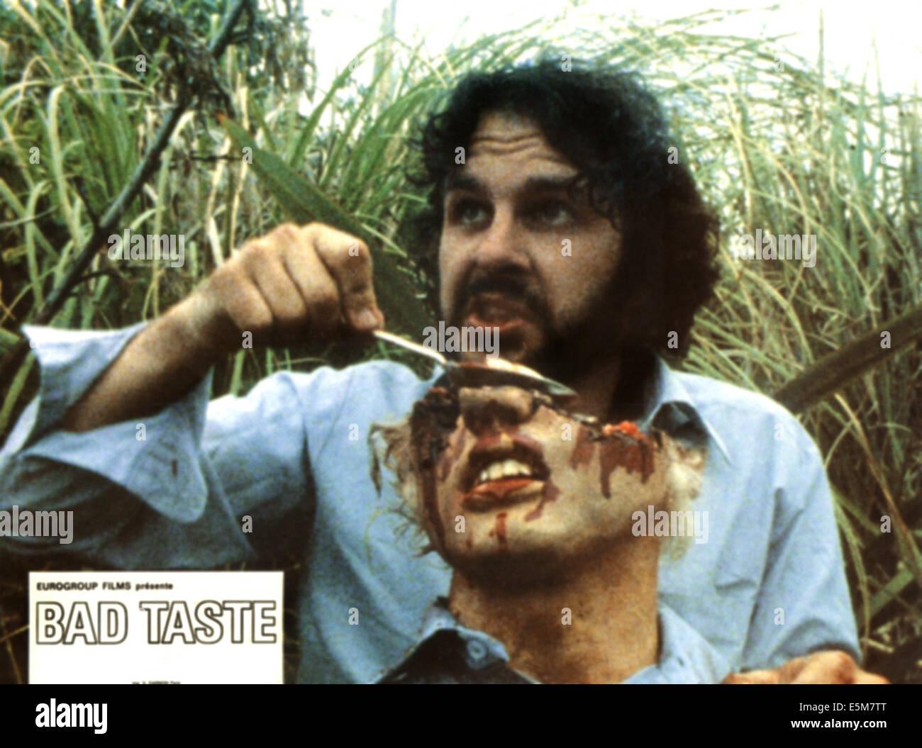 BAD TASTE, Peter Jackson, 1987 - Stock Image