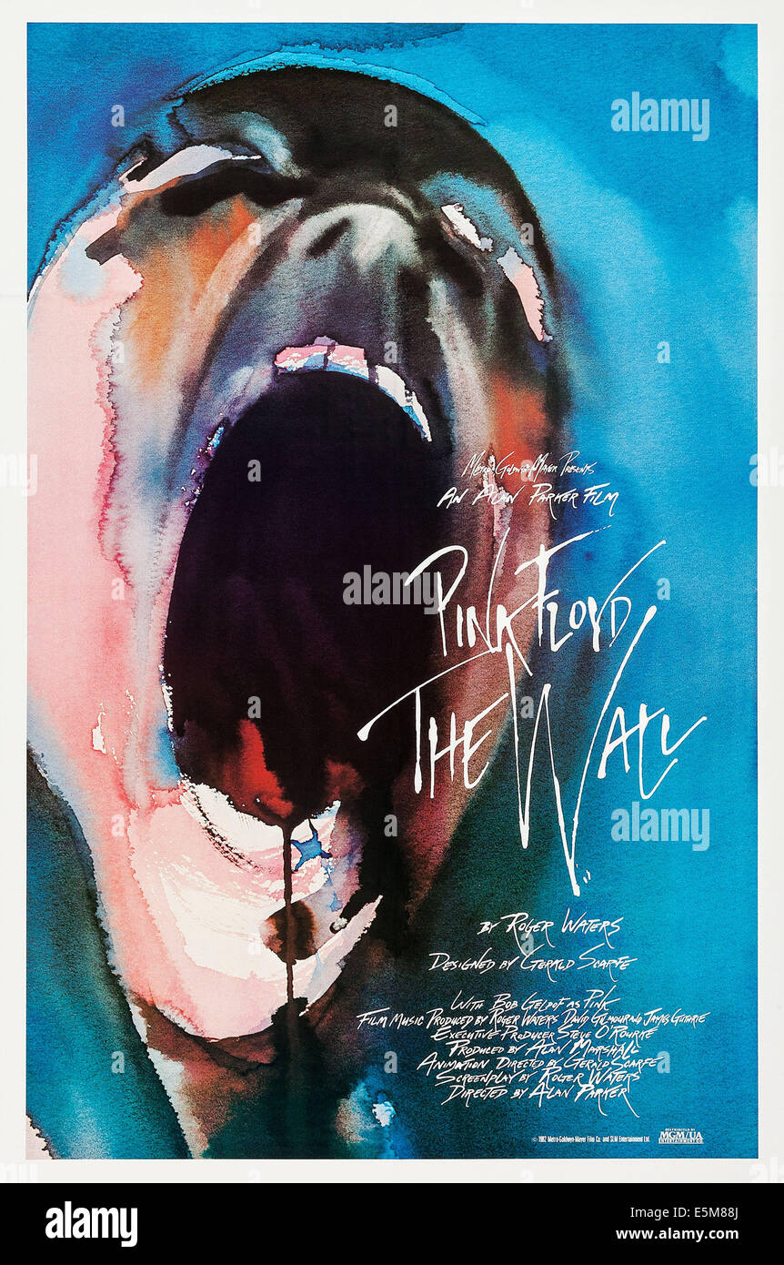 PINK FLOYD THE WALL, poster, 1982, (c) MGM, Courtesy: Everett Collection - Stock Image