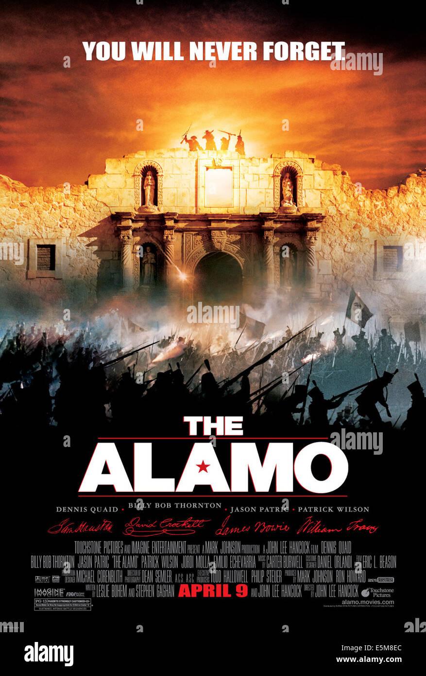 THE ALAMO, 2004, (c) Touchstone/courtesy Everett Collection - Stock Image
