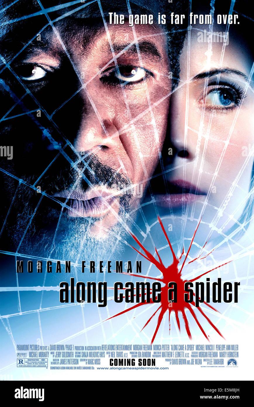 ALONG CAME A SPIDER, Morgan Freeman, Monica Potter, 2001 - Stock Image