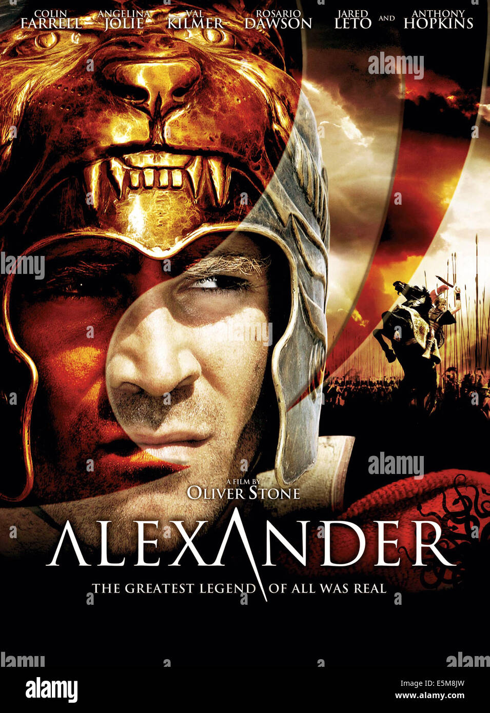 ALEXANDER, Colin Farrell, 2004, (c) Warner Brothers/courtesy Everett Collection - Stock Image