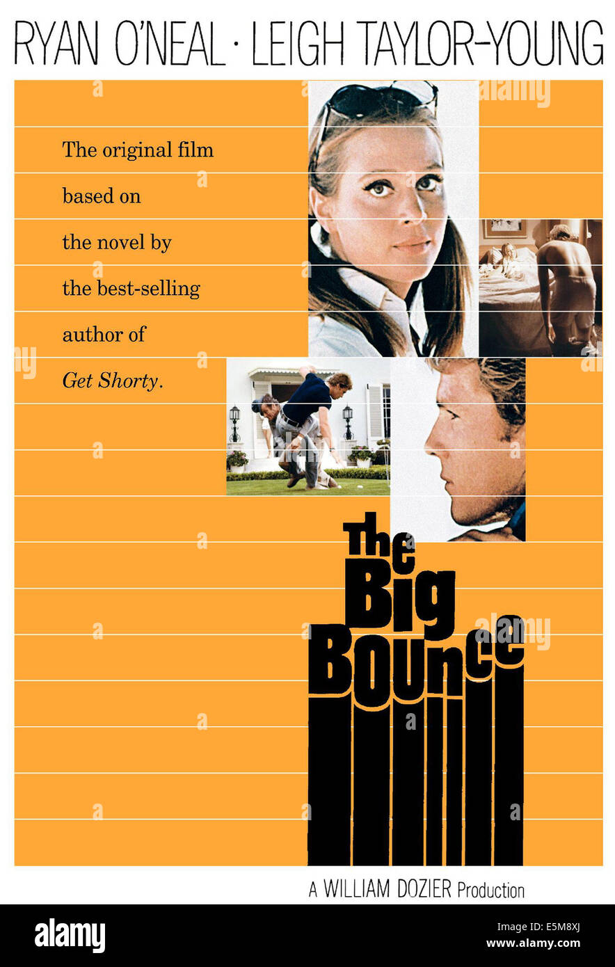 THE BIG BOUNCE, 1969 - Stock Image