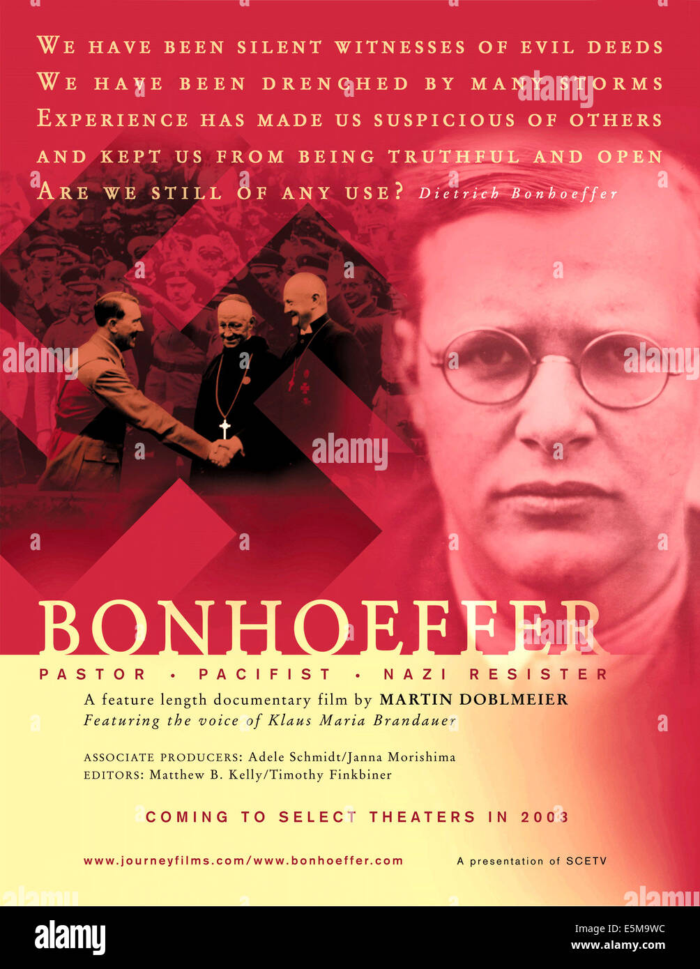 BONHOEFFER, 2003 - Stock Image