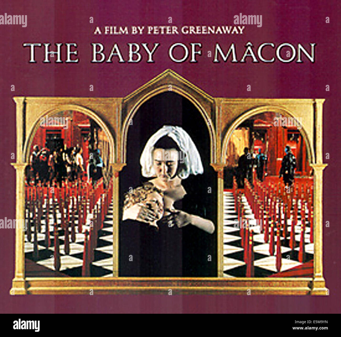 THE BABY OF MACON, poster art, 1993. - Stock Image