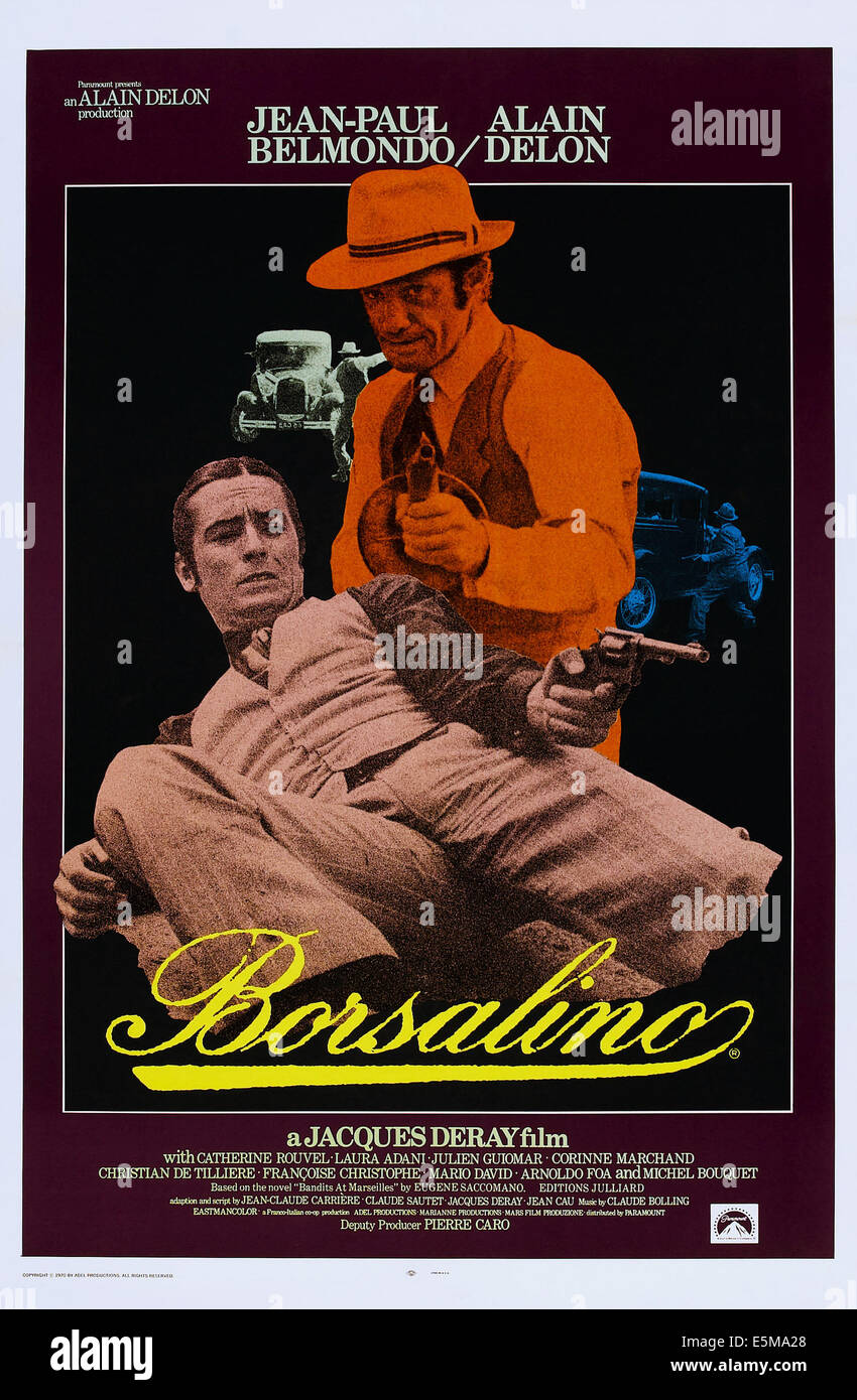 Borsalino Aka Borsalino And Co Aka Blood On The Streets