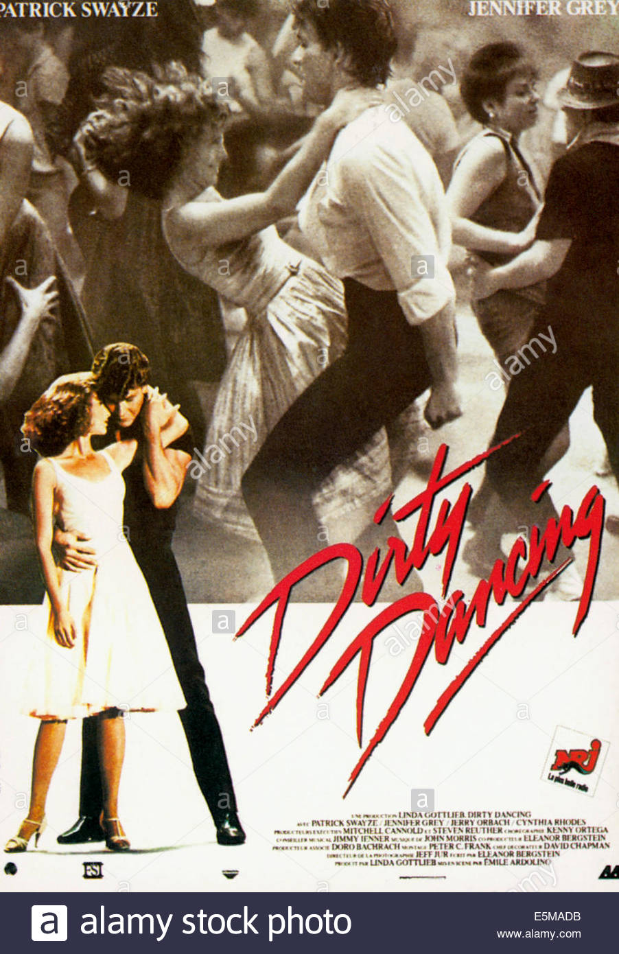 Dirty Dancing Jennifer Grey Patrick Swayze 1987 C Artisan Stock Photo Alamy