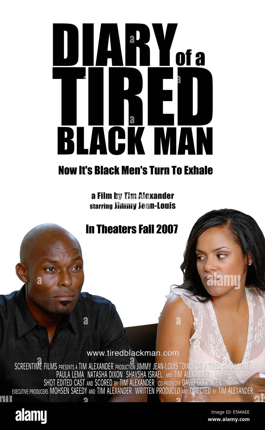 diary of a tired black man movie poster from left jimmy stock