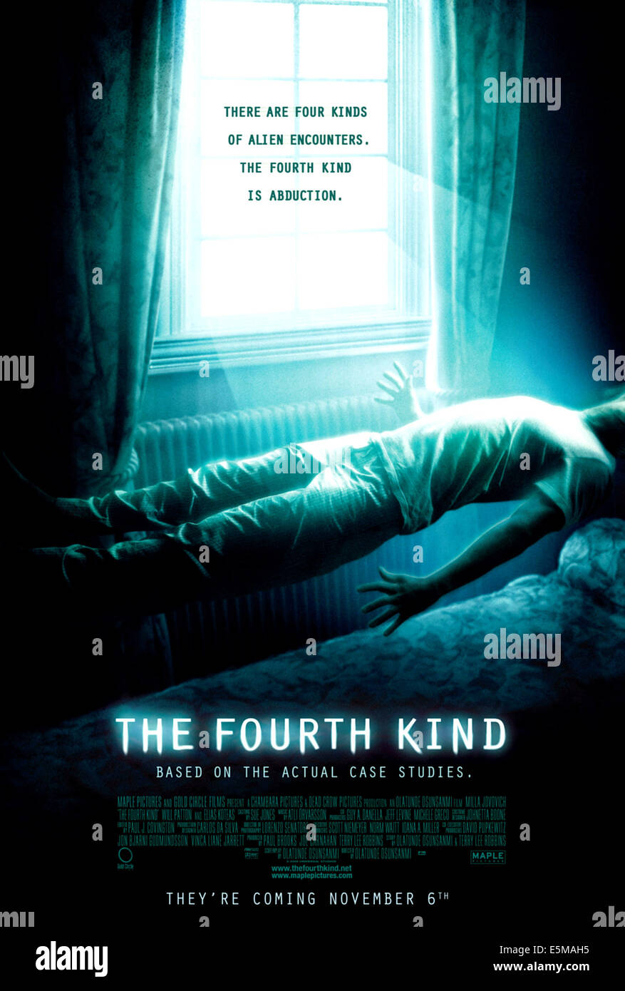 THE FOURTH KIND, Canadian poster art, 2009. ©Universal/courtesy Everett Collection - Stock Image