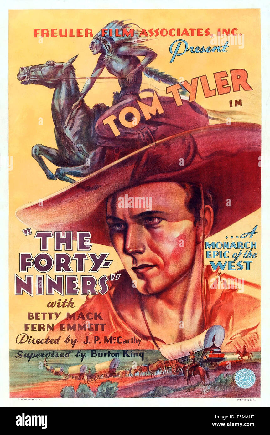Forty niners gold rush posters