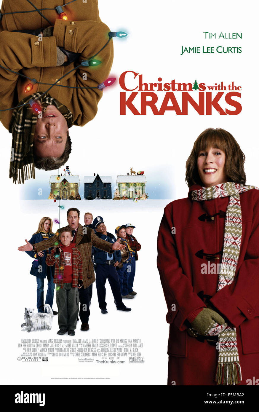 CHRISTMAS WITH THE KRANKS, Tim Allen, Jamie Lee Curtis, 2004, (c) Columbia/courtesy Everett Collection - Stock Image