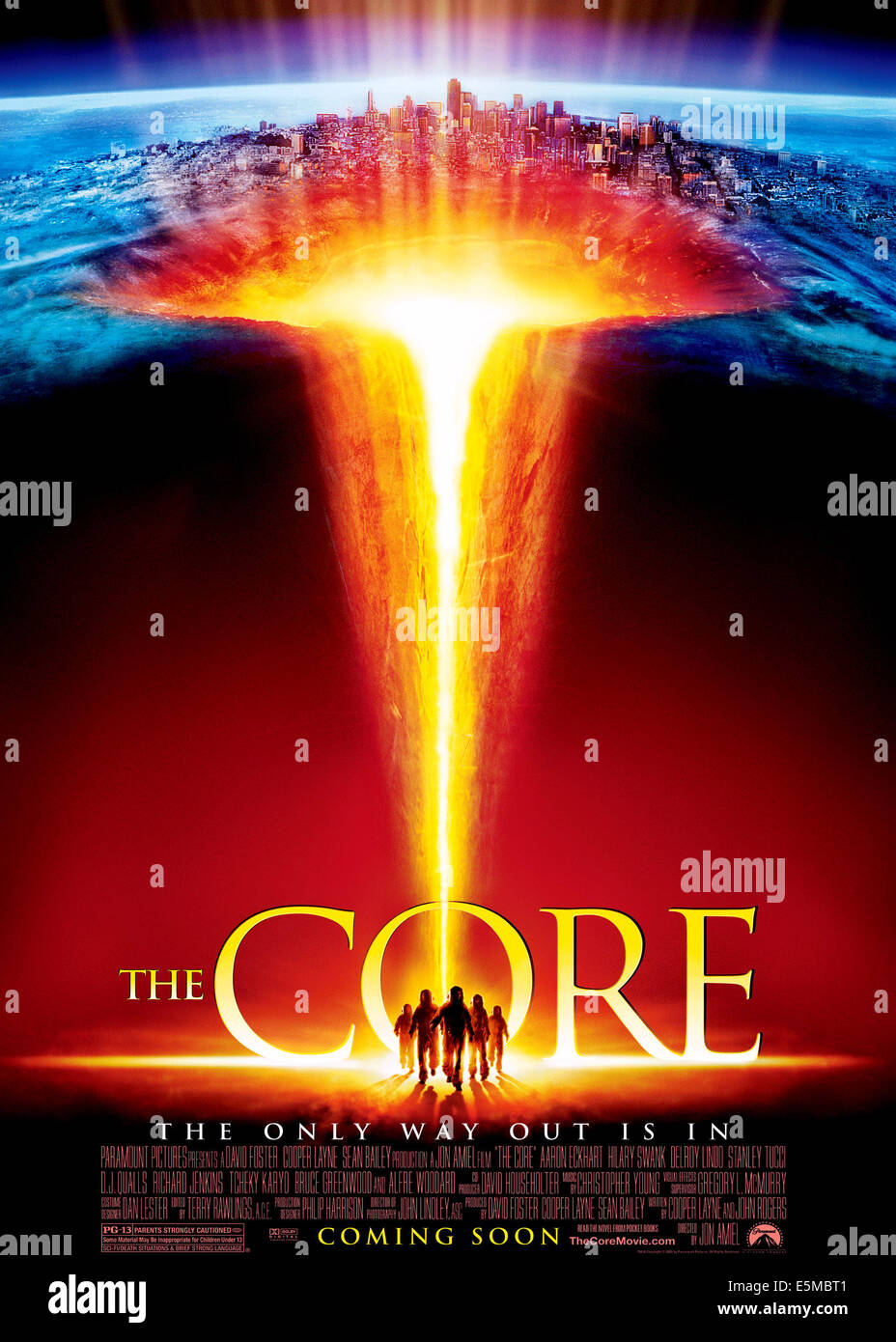 THE CORE, 2003, (c) Paramount/courtesy Everett Collection - Stock Image