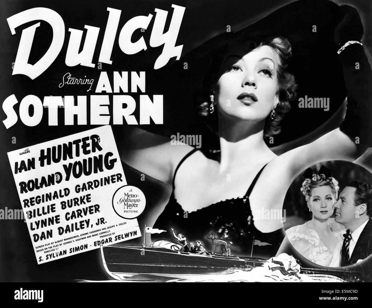 DULCY, Ann Sothern, Ian Hunter, 1940 - Stock Image