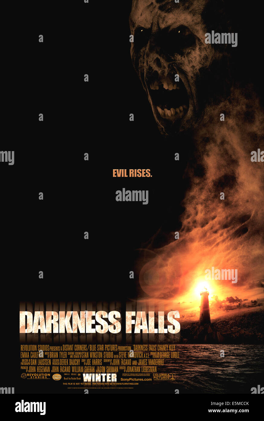 DARKNESS FALLS, 2003, (c) Columbia/courtesy Everett Collection - Stock Image