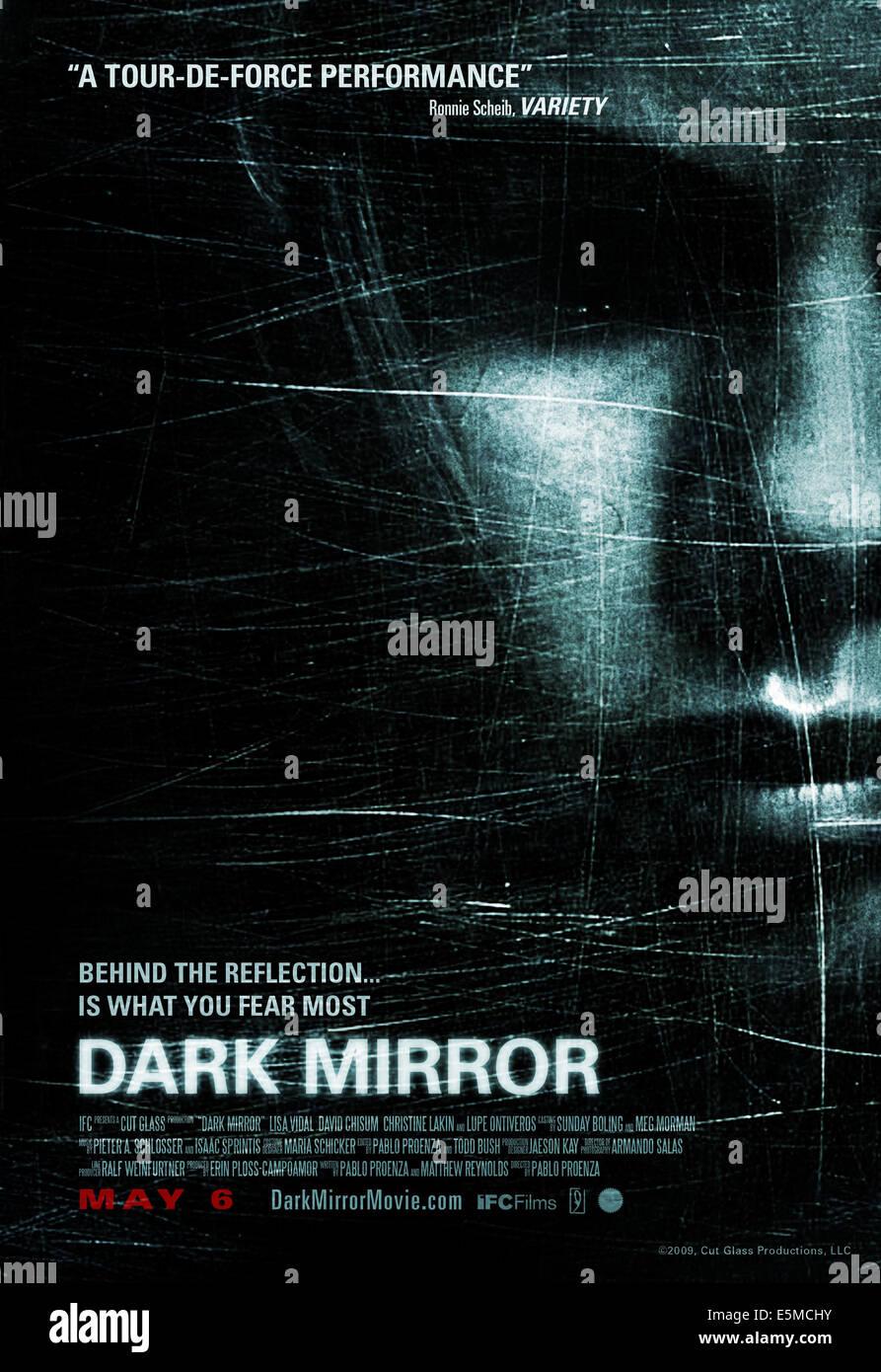 DARK MIRROR, US poster art, 2007. ©IFC Films/Courtesy Everett Collection - Stock Image