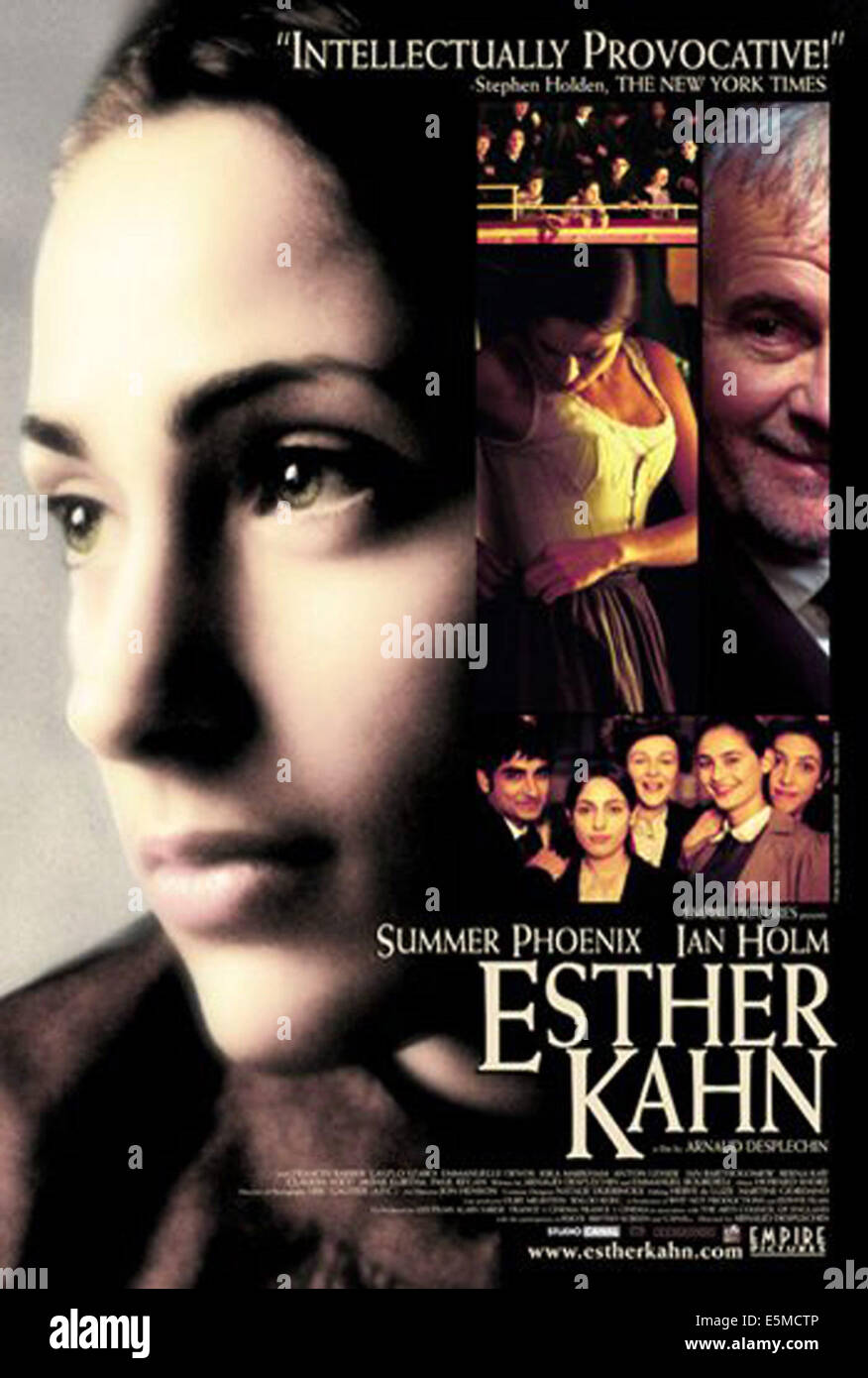 ESTHER KAHN, Summer Phoenix, Ian Holm, 2000, (c) Empire Pictures/courtesy Everett Collection - Stock Image