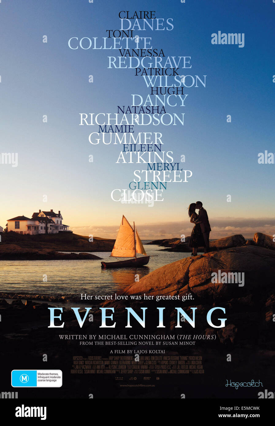 EVENING, 2007, © Focus Features/courtesy Everett Collection - Stock Image