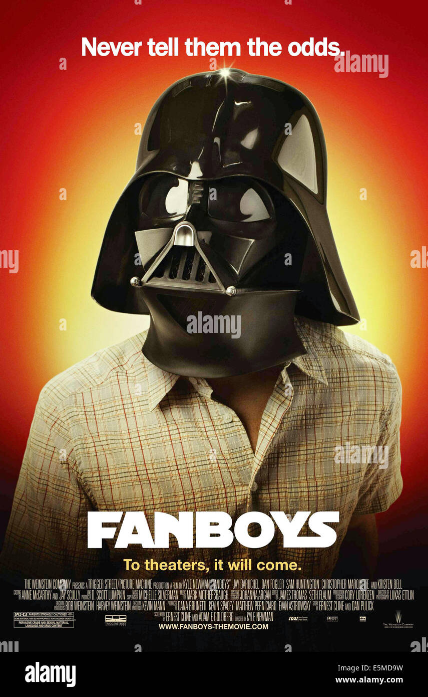 FANBOYS, poster art, 2008. ©MGM/Courtesy Everett Collection - Stock Image