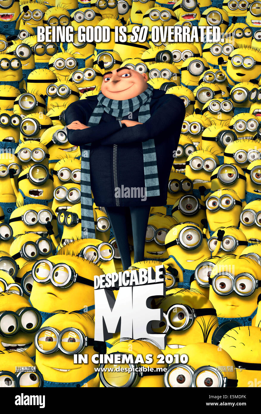 DESPICABLE ME, Gru (voice: Steve Carell), 2010. ©Universal/Courtesy Everett Collection - Stock Image
